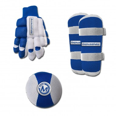 Kit guantes, rodilleras y espinilleras Impact kids